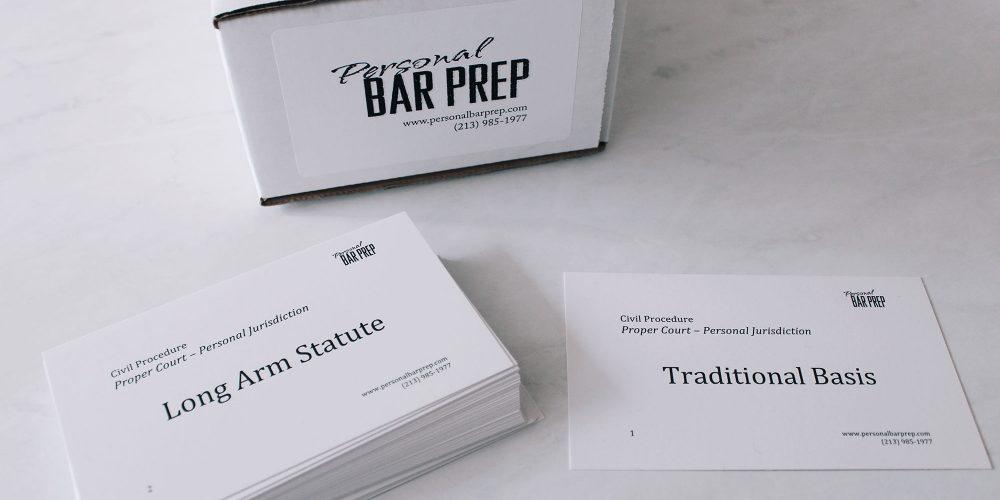 Bar Exam Flashcards